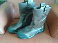 NEW dr martens rigger safety boots uk10 eu45