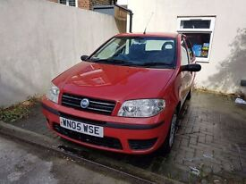 Fiat Punto Active 2005 Red 5dr