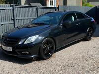 59 Plate Blacked Out Eclass Coupe 250AMG Sat Nav £6000ono