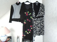 LADIES SIZE 14, BRAND NEW CLOTHING, SKIRTS, DRESSES, TOPS, JUMPERS, COAT + GENTS BRAND NEW CLOTHING