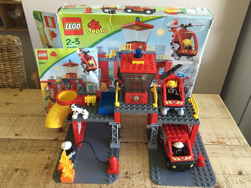 Lego Duplo fire stationin Norwich, NorfolkGumtree - Lego Duplo fire station Excellent condition all parts included In original box although the box is a little knocked about