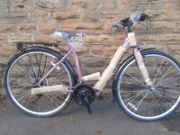 "NEW Dawes Mirage Ladies Womens 19"" - Purple Low Step Classic Dutch Style Hybrid 700c Bike - RRP £379"