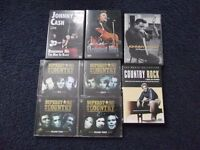 Country Music cds and dvds