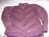 Ladies Toggi Feather & Down filled jacket. sz Medium (12)