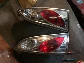 Ford Focus clear rear lights x 3 - £30