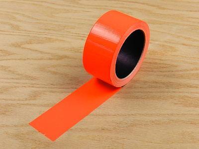 2 Orange Colored Duct Tape Colors Waterproof Uv Tear Resistant 20 Yd 60