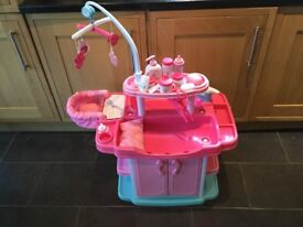 ELC cupcake doll baby changing station