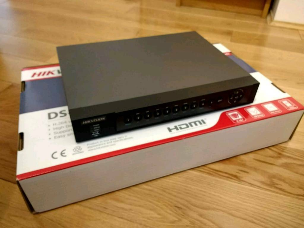 Hikvision 4 channel CCTV DVR - remote viewing | in Knaresborough, North  Yorkshire | Gumtree