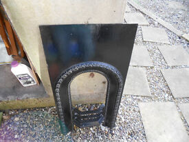 fire surround Black cast iron