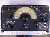 R1155 A Air Ministry RAF Radio restored working with power unit and power amplfier