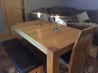 Harvey's Oak Dining Table