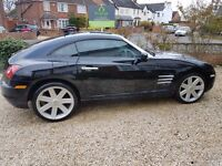 Chrysler Crossfire Black in excellent condition