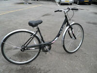 "Brand New Varsity Woman's 18"" Hybrid Town Bike With Warranty Designed by Raleigh"
