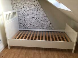 IKEA Hemnes white wooden Single Bed Frame