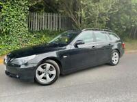 BMW 520D ESTATE 2007 AUTOMATIC 2.0 DIESEL BLACK *MSPORT*