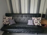 As new excellent condition sofa bed