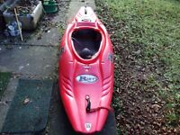 Riot 55 Kayak for sale- Excellent condition needs new home. Excellent boat to surf, as well as river