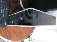 "Hp PC Desktop DC 7900 and Dell 19"" Monitor Windows 7"