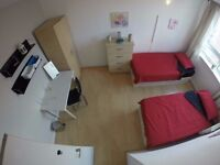 3 Stunning bedrooms available !1 single 2 Twin/ Double !