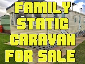 Static Caravan 4 Sale. Seaside Town. Award Winning Holiday Park. Funding Options Available.
