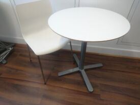 Ikea round table and two chairs