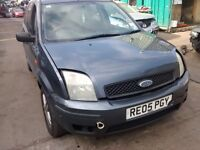 2005 Ford Fusion 1.4 TDCi city 5dr magnum grey BREAKING FOR SPARES