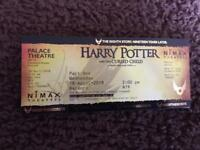 2 x Harry Potter tickets - Part 1