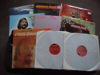 9 LP James LLast Vinyl Job Lot for collection only