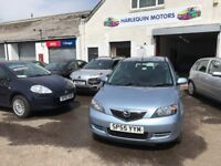 Reg.22/09/2005 MAZDA 2 ANTARES S 1.4 DIESEL,£30 ROAD TAX,NEW CLUTCH+FRONT BRAKES&PADS, MUST BE SEEN