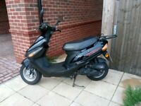 50cc Direct Bike Moped (quite nippy for a 50cc) £450