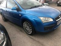 2005 Ford Focus titanium 2.0 Tdci 3 door ( spares or repair needs power steering pump still drives )