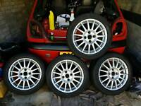 "Mk5 Ford fiesta 15"" 15 spoke 4 stud"