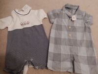 Baby boy summer outfits - 6-9 months