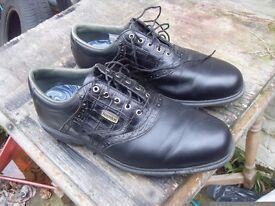 TOP OF THE RANGE DRYJOYS GOLF SHOES SIZE 10 WITH OPTIFLEX SOLES COST £250