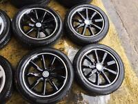 """15"""" GENUINE SMART FORTWO PULSE PASSION SET OF 4 WITH TYRES"""