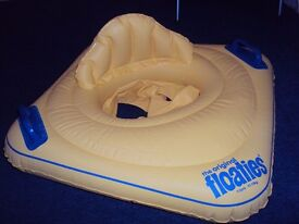 inflatable swim ring suitable for babies up to 15 kg