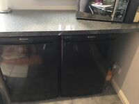 Black under bench freezer hotpoint RZAAV22K.1