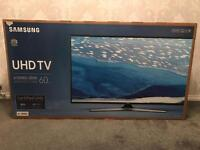 "**BRAND NEW & SEALED** Samsung 60"" led 4K Smart TV"