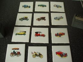 H&R Johnson vintage car tiles