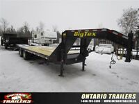 2015 Big Tex Trailers 22GN 20+5 / 3 spring assist ramps