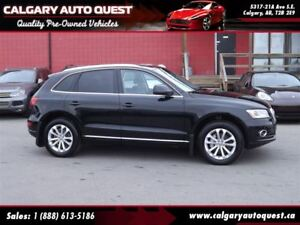2013 Audi Q5 2.0T AWD/ LEATHER / PANO-ROOF