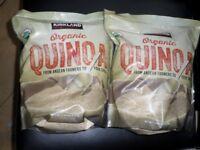 2 x Kirkland Signature Organic Quinoa_Brand New 2.04kg (4kg in total)