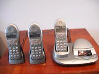 BT Freestyle 2500 Phone Set (3) For Sale
