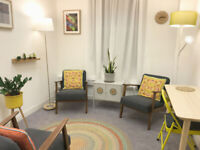 Therapy / Consulting Room for rent Central London - King's Cross Road WC1X 9DE