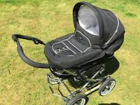 Emmaljunga 3-in-1 Pram, Carrycot and pushchair (Mondial)