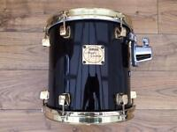"Yamaha Maple Custom 10"" Tom with Gold Plated Hoops"