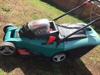 Battery lawnmower Bosch Rotak 34Li