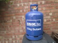 full 15 kg calor gas bottle