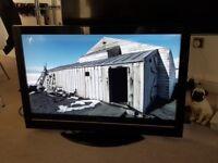 HITACHI LCD 42 INCH SCREEN BLACK
