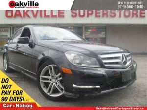 2013 Mercedes-Benz C-Class 300 4MATIC | LEATHER | SUNROOF | BLUE